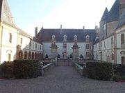 Cour d'honneur du château de Blancafort