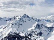 Sharp mountain peak near Auron resort (Unsplash)