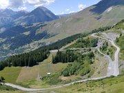 Route du Col du Petit-Saint-Bernard quittant La Rosière