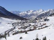 Vue aérienne de Montgenèvre