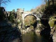 Pont du diable à Mercus-Garrabet (Ariège)