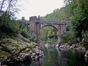 Pont du diable à Mercus-Garrabet