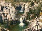 Le Gour de la Sompe et sa cascade
