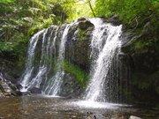 Les cascades de la rivière le lagnon