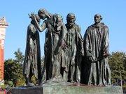 Les Bourgeois de Calais, célébre scupture d auguste Rodin