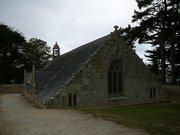 Chapelle Notre-Dame de Port-Blanc à demis enterrée