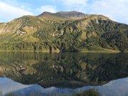 Le Lac Roselend et son barrage